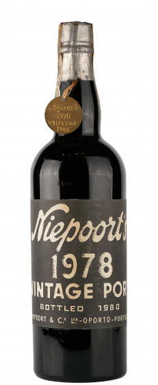 1978 Niepoort Vintage Port фото