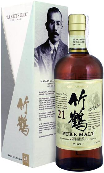 Nikka Taketsuru 21 Years Old Pure Malt фото