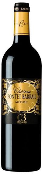 Chateau Pontet Barrail Medoc AOC, 2012 фото