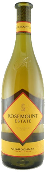 Rosemount Estate Diamond Label Chardonnay, 2002 фото