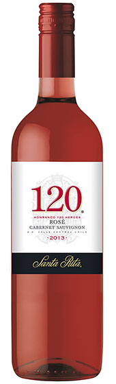 Вино Santa Rita 120 Rose Cabernet Sauvignon, 2009