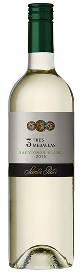 2016 Santa Rita Sauvignon Blanc Tres Medallas фото