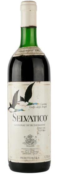 1987 Selvatico Cannonau di Sardegna Vino da Tavola Rosso фото