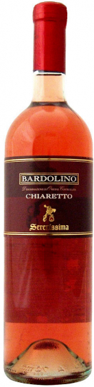 2017 Serenissima Bardolino Chiaretto фото