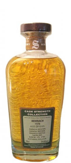 1976 Signatory BenRiach Cask Strength Collection фото