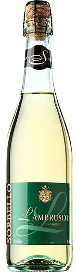 Игристое вино Sorbello Lambrusco Bianco, 2005