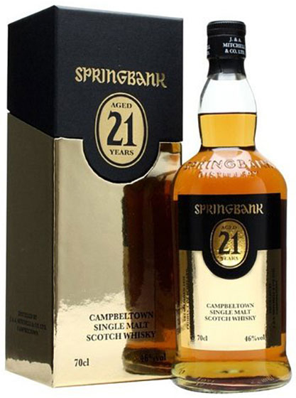 Виски Springbank 21 Years Old