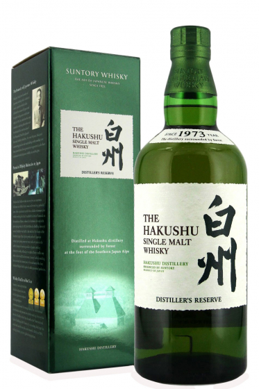 Suntory Hakushu Distiller's Reserve, gift box фото