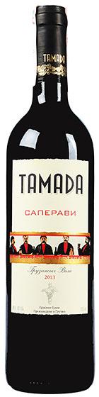 Вино Tamada Saperavi
