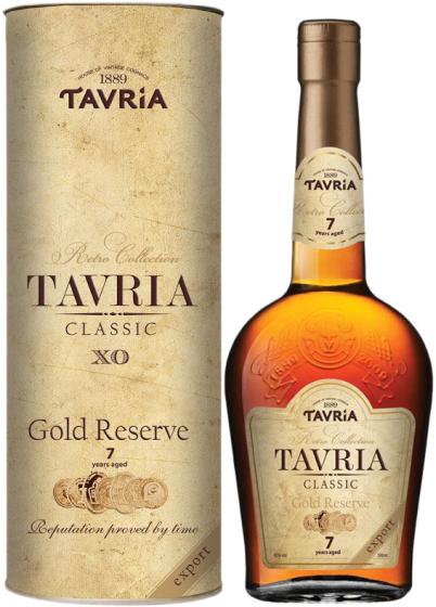 Коньяк Tavria Classic XO 7 Years