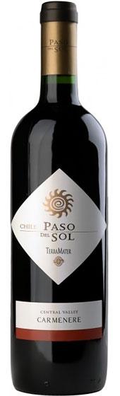 Вино TerraMater Paso Del Sol Carmenere, 2012