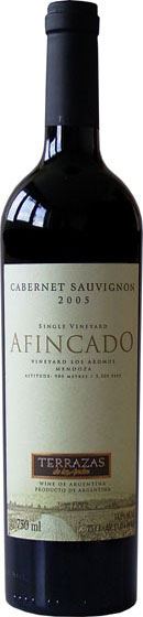 Вино Terrazas Afincado Cabernet Sauvignon