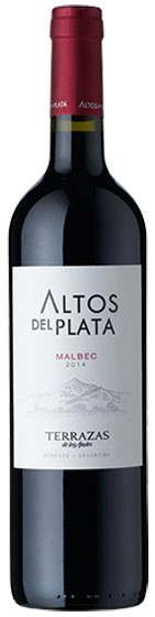 2014 Terrazas de los Andes Altos del Plata Malbec фото