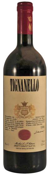 1986 Tignanello Toscana IGT фото