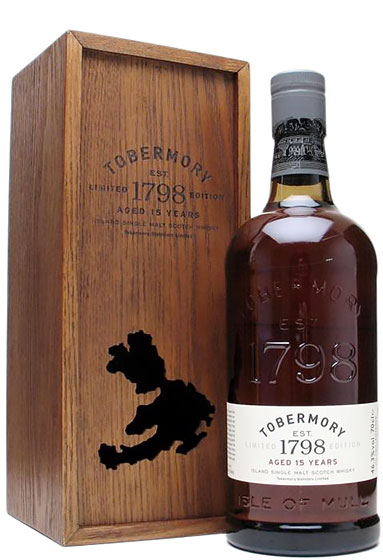 Виски Tobermory 15 Year Old