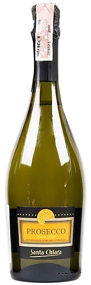 Toser Vini Spa Santa Chiara Prosecco Extra Dry, 2017 фото