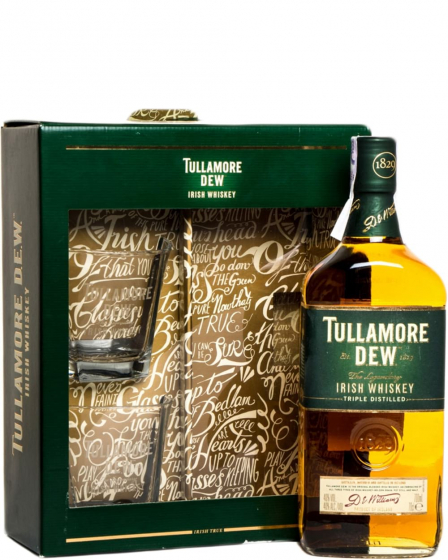 Tullamore Dew Original with glasses фото