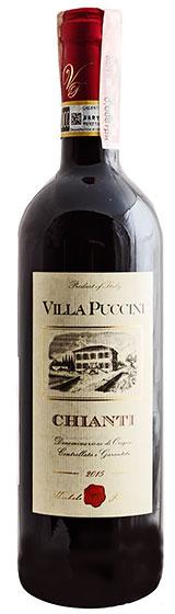 Вино Villa Puccini Chianti DOCG, 2015