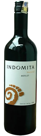 2013 Indomita Merlot фото