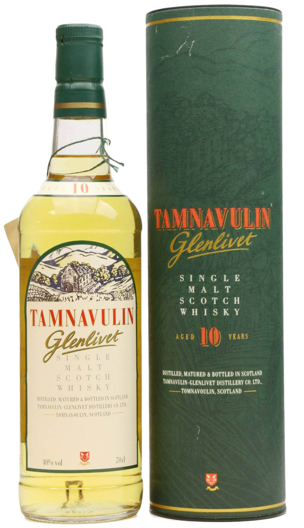 Tamnavulin Glenlivet 10 Years Old фото