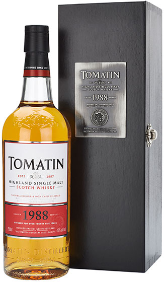 1988 Tomatin 25 Year Old фото