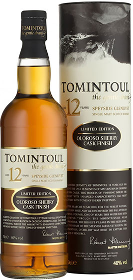 Tomintoul Sherry Finish 12 Years Old фото