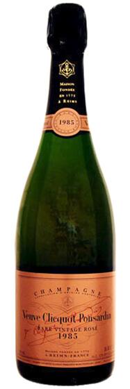 1985 Veuve Clicquot Rare Vintage Rose фото