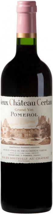 1996 Vieux Chateau Certan Pomerol фото