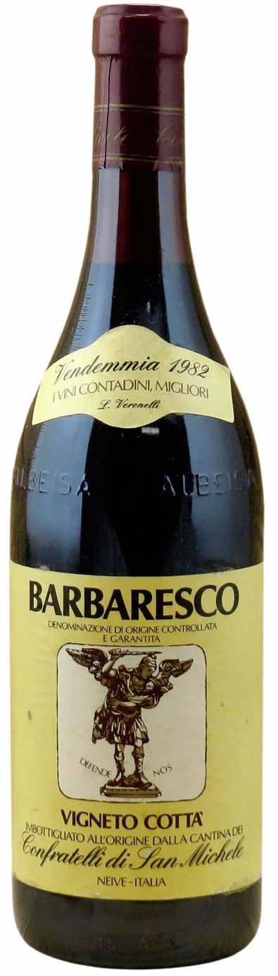 1982 Vigneto Cotta Barbaresco фото