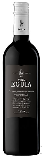 2015 Vina Eguia Tempranillo Rioja фото