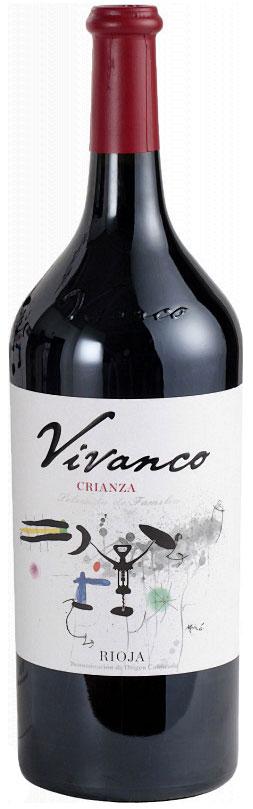 2014 Vivanco Crianza, Rioja 1.5 liter фото