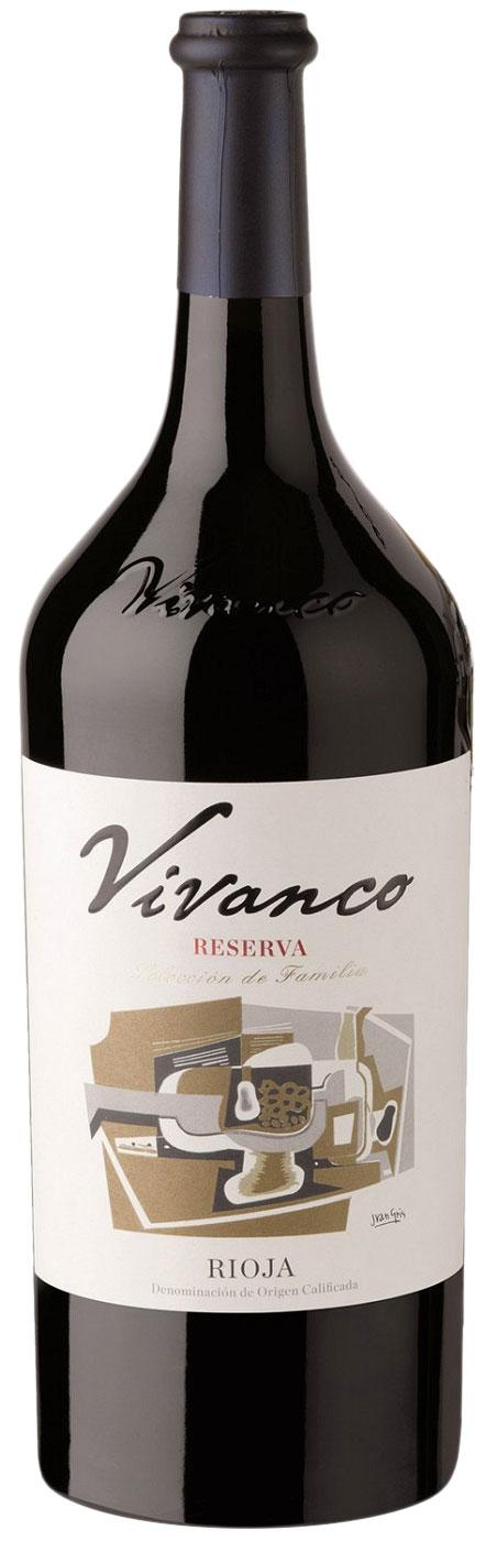2012 Vivanco Reserva, Rioja 1.5 liter фото
