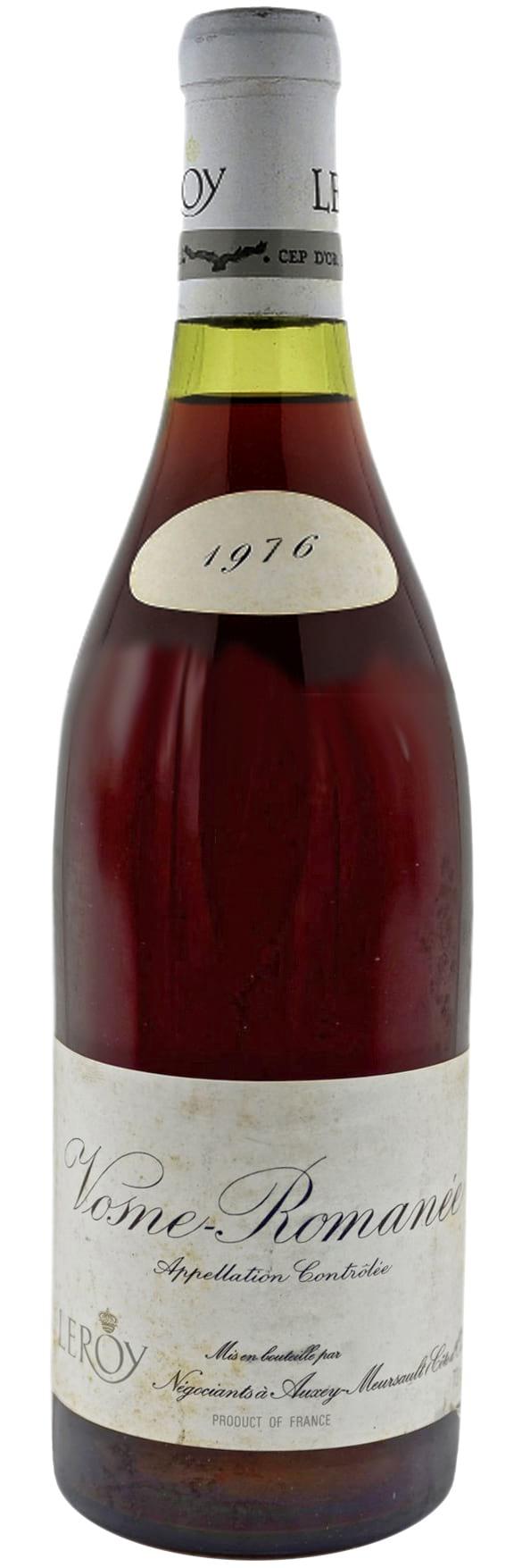 1976 Domaine Leroy Vosne-Romanee фото