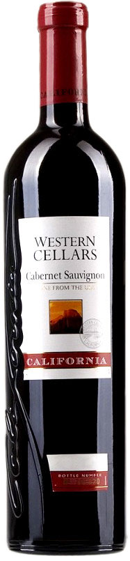 Western Cellars Cabernet Sauvignon фото