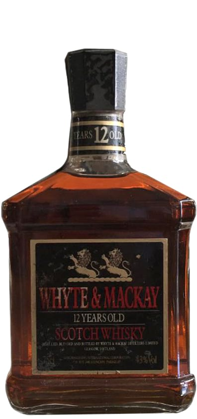1980 Whyte & Mackay 12 Years Old фото