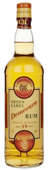 William Cadenhead Green Label Guyanan 15 Years Old фото