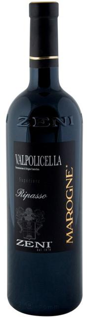 Zeni «Marogne» Valpolicella Ripasso Superiore фото