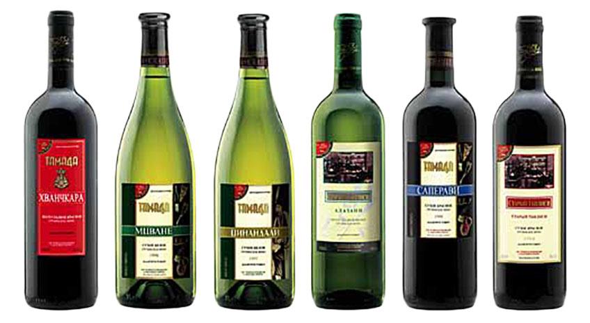 Грузинские вина фото